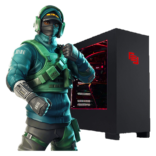 Gaming PC with Counterattack Set icon
