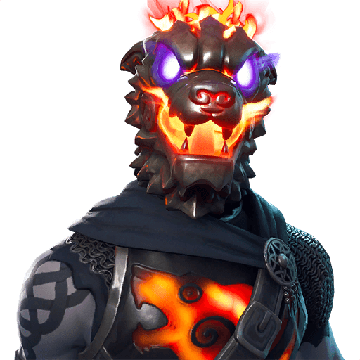 Molten Battle Hound Outfit icon