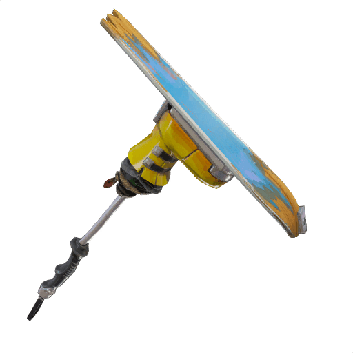 3d model available audio available ski boot pickaxe icon - fortnite verge pickaxe