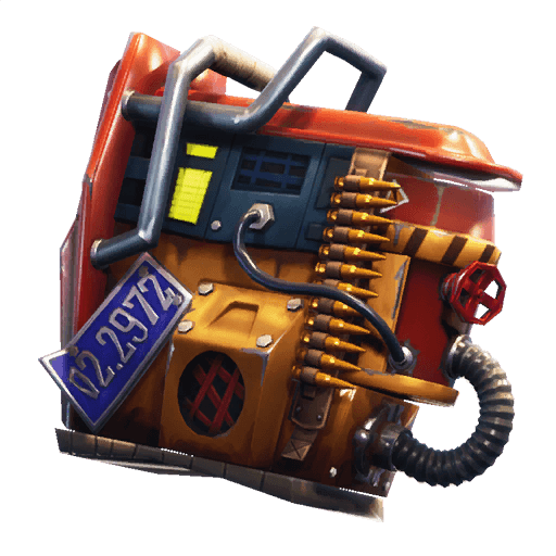 Rust Bucket Back Bling icon