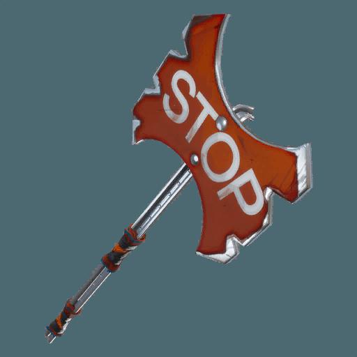 Stop Axe Pickaxe icon