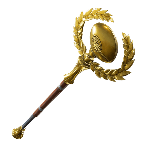 Golden Pigskin Pickaxe icon