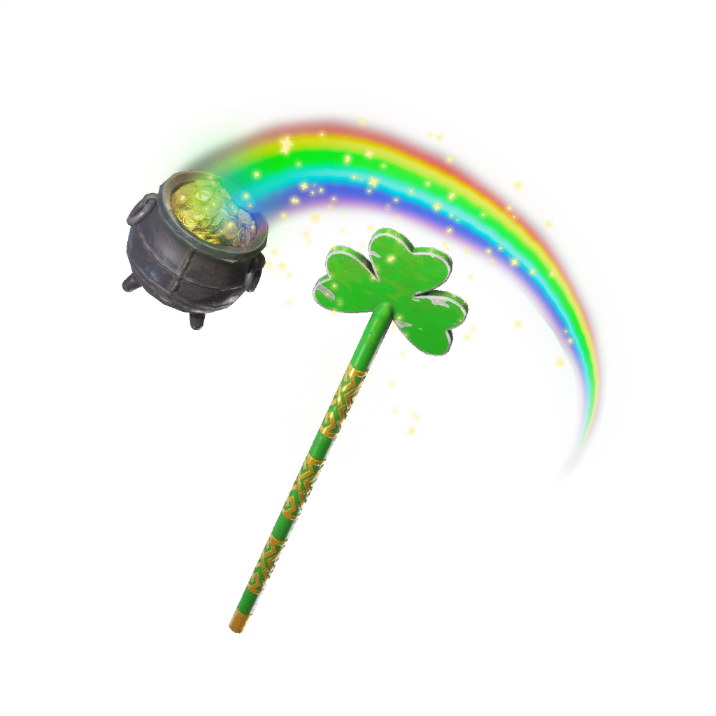 Pot O Gold PIckaxe Featured image