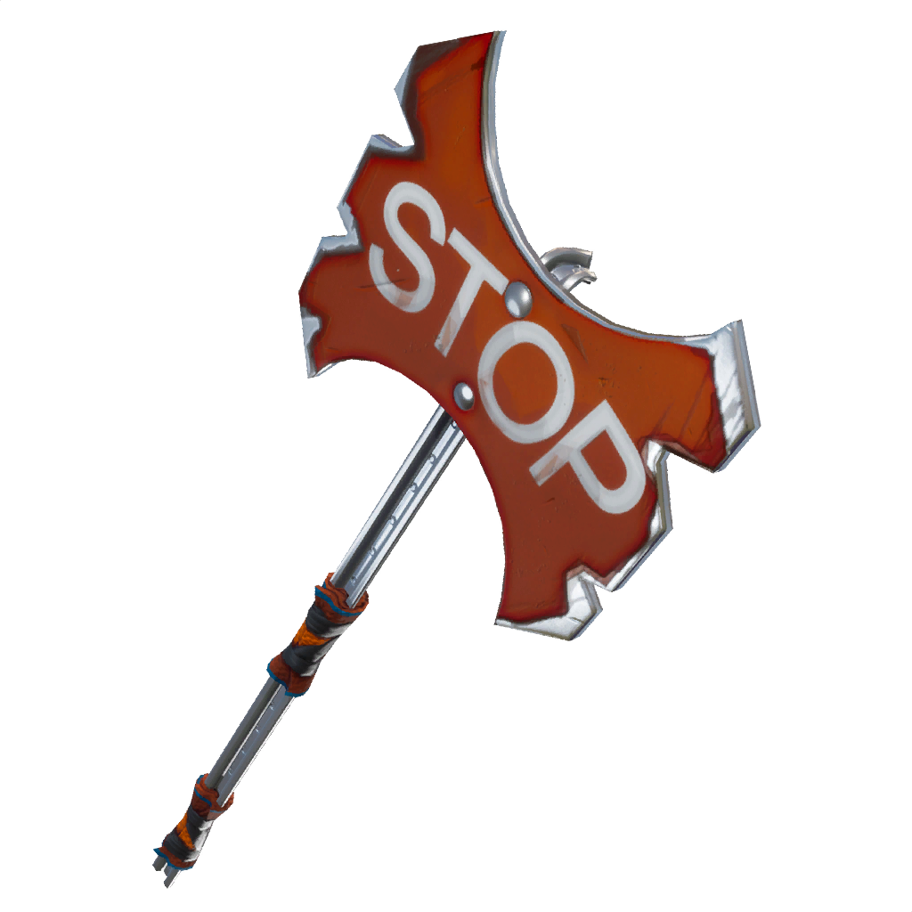 Stop Axe Pickaxe Featured image