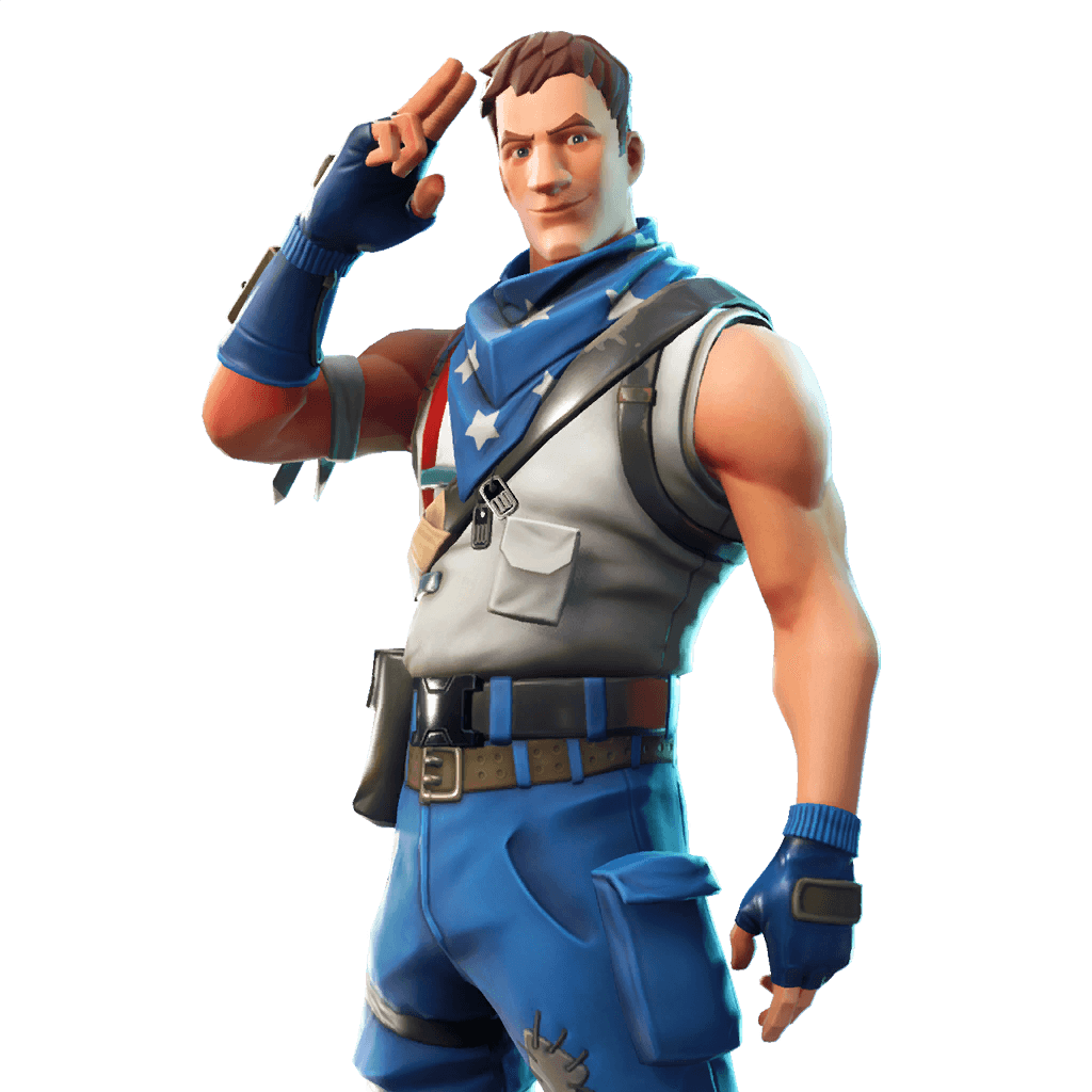 Star-Spangled Trooper Outfit Featured image