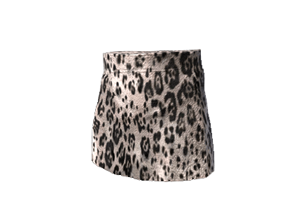 PUBG Snow Leopard Skirt skin icon