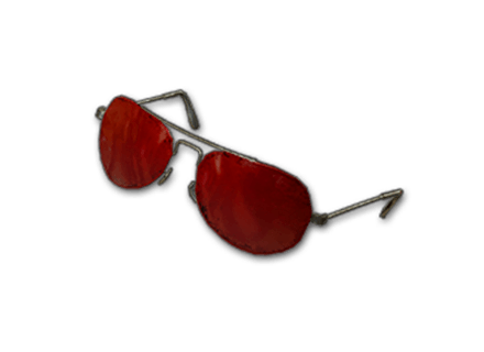PUBG Rose-tinted Glasses skin icon