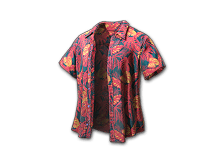 PUBG Beach Shirt (Coral) skin icon