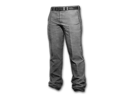 PUBG Suit Pants (Gray) skin icon