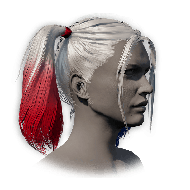 Harley Quinn's Hair icon