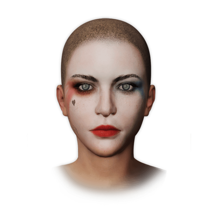 Harley Quinn's Makeup icon