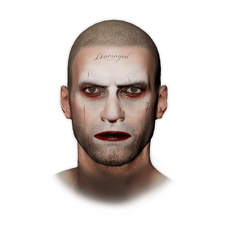 PUBG The Joker's Makeup skin icon