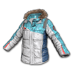 PUBG Tri-Color Snow Jacket skin icon
