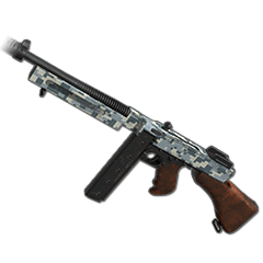 PUBG Arctic Digital - Tommy Gun skin icon